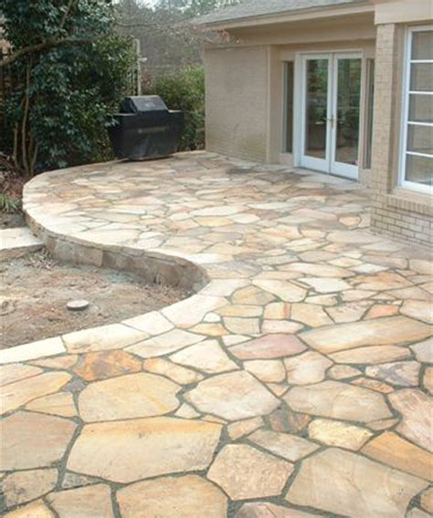 slate patio walkways flagstone contractor flagstone