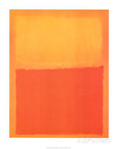 Rothko Kunstdruck by Orange Und Gelb Kunstdrucke Rothko Bei