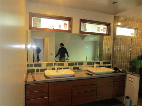 lighting and mirrors bathroom mirror with lighting cutouts la jolla patriot