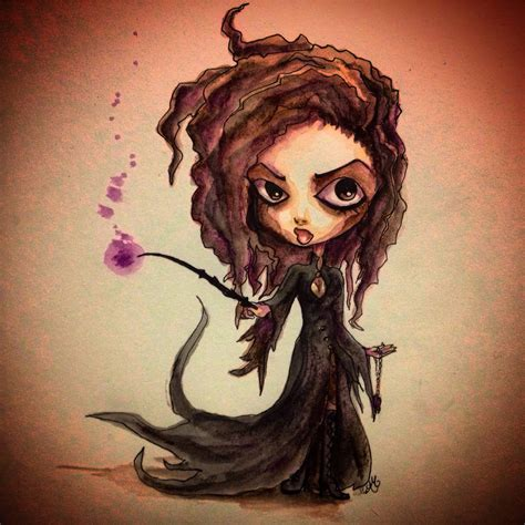 Cute Crafts For Kids - started doodling the other day ended up with bellatrix harrypotter