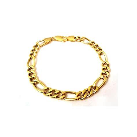 cadena de oro 7 gramos precio 18 kt amarillo oro cadena pulsera 12 gramos para los hombres