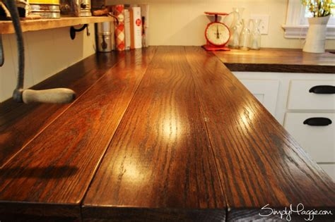 Pinterest Kitchen Island by Diy Wide Plank Butcher Block Counter Tops Simplymaggie Com
