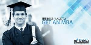 Best Place To Do Mba the best place to get an mba
