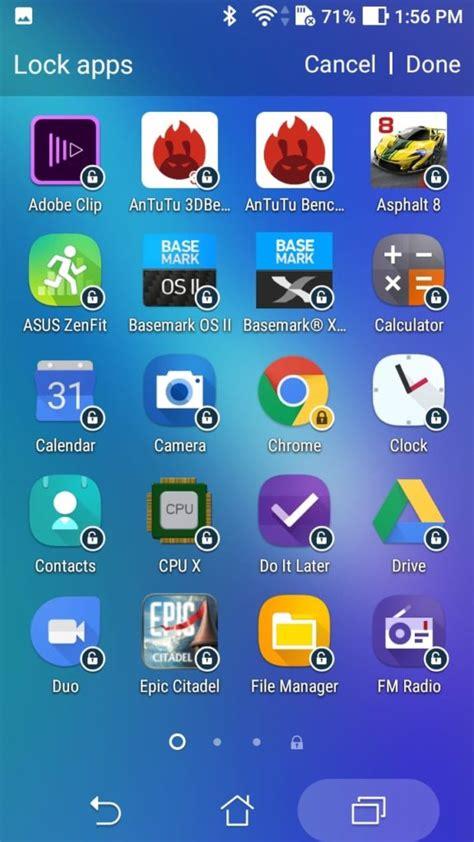 pattern lock zenfone 5 asus zenfone 3s max lock applications for safety