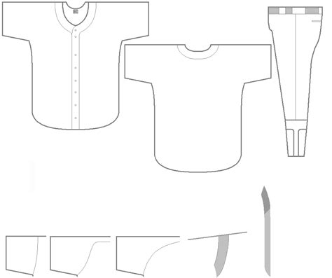 baseball jersey template blank baseball jersey clipart 26