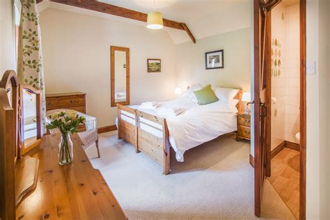 cottage bedroom lighting accommodation homildon holiday cottage northumberland