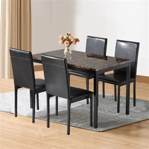 piece dining room table set btmway kitchen dining table