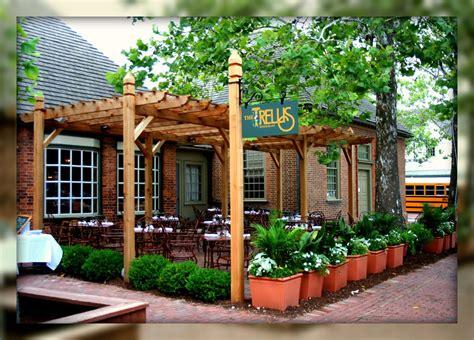 patio restaurant living in williamsburg virginia the trellis restaurant