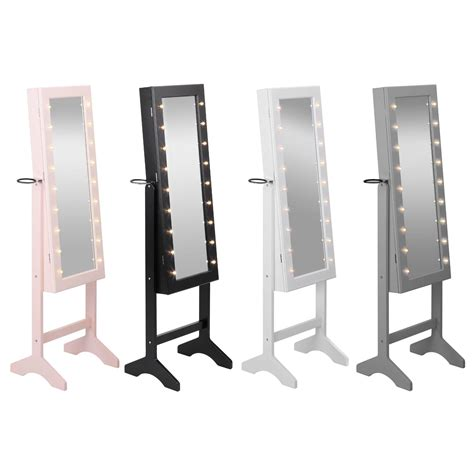 jewellery mirror cabinet with led lights jewellery mirror cabinet with led lights cabinets matttroy