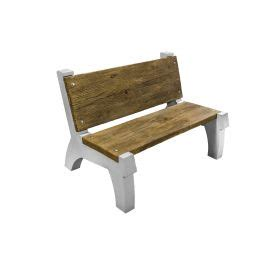 Butterfield Concrete Bench With Backrest Mold System