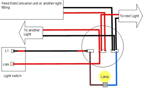 Wiring A Ceiling Light Light Wiring Diagrams Light Fitting