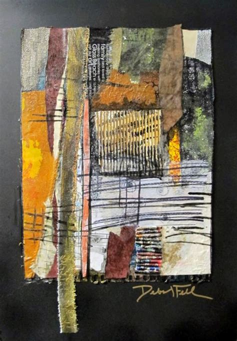 Mixed Media Quilts by Mixed Media 187 Deborah Fell Quilts