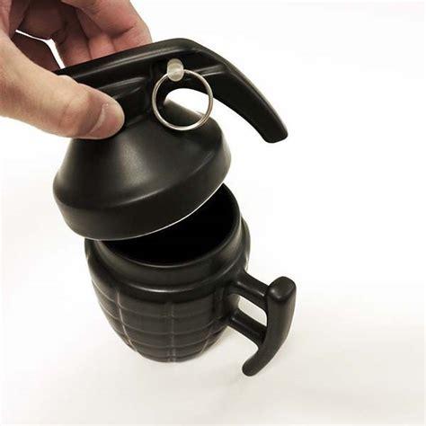 Cool Coffee Mug the grenade coffee mug perks you up with your favorite