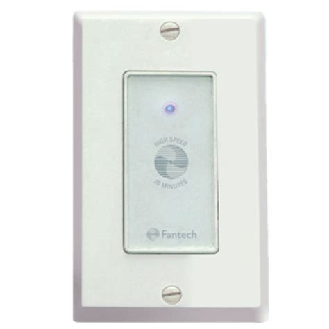 bathroom timer fan controls bathroom fan electronic timer control by fantech kitchensource com