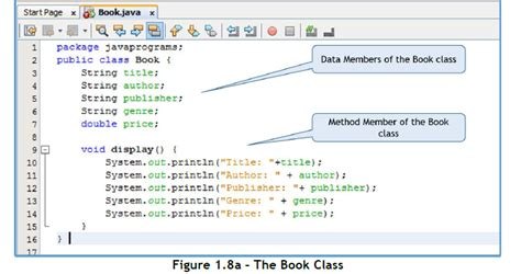class design guidelines java learn fundamentals of java programming class design in