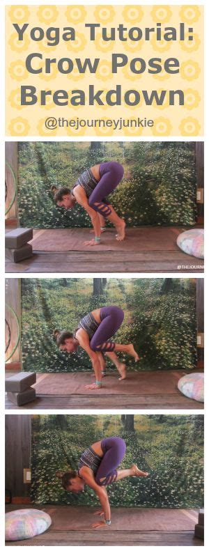 yoga crow tutorial 104 best images about yoga sequences on pinterest yoga