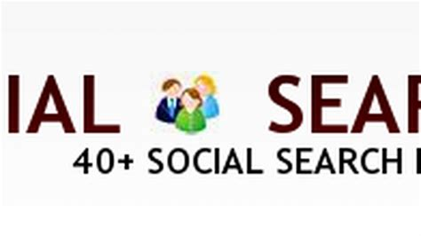Search By Social Social Search Guide 40 Social Search Engines Autos Post