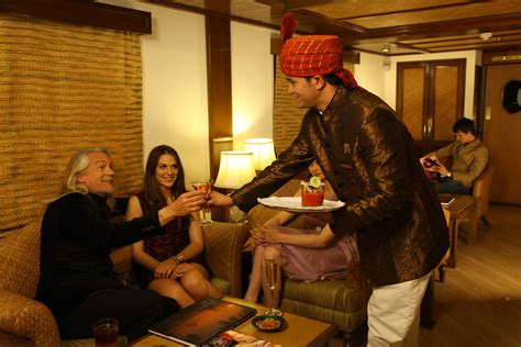 maharajas express bags world s leading luxury train award some lighter moments life on board on maharaja express