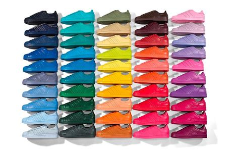 color adidas adidas superstar supercolor 50 couleurs selon pharrell