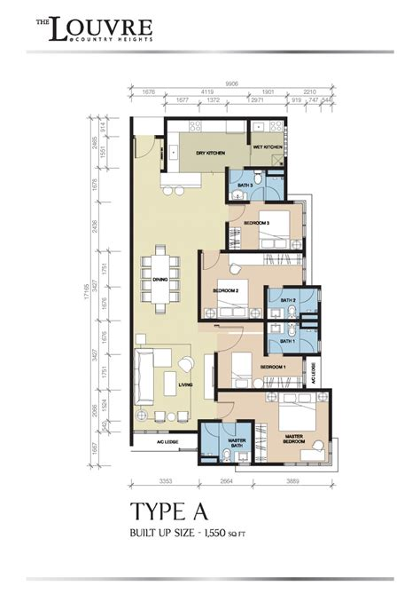 the louvre floor plan the louvre kajang country heights new launch