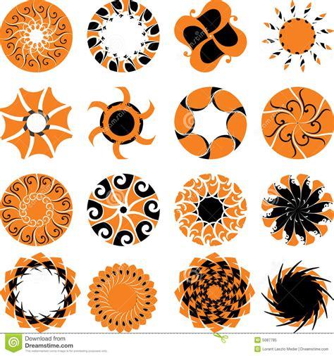 abstract sun logo royalty free stock photo image 5087785