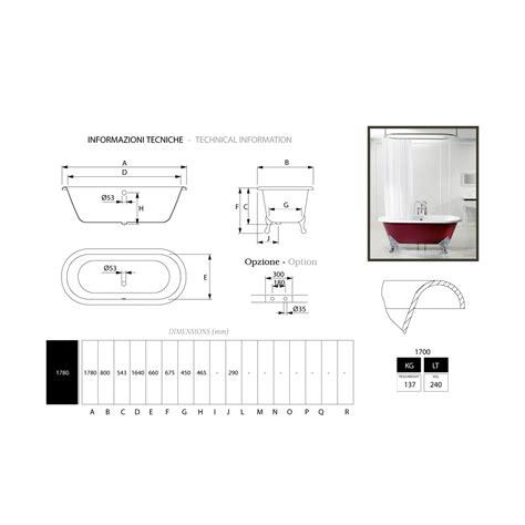 vasca da bagno ghisa vasca da bagno freestanding in ghisa con piedini