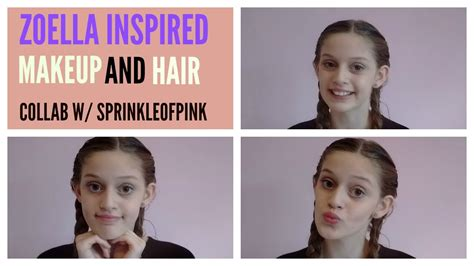 hair and makeup tutorials zoella zoella inspired makeup and hair beauty beauty