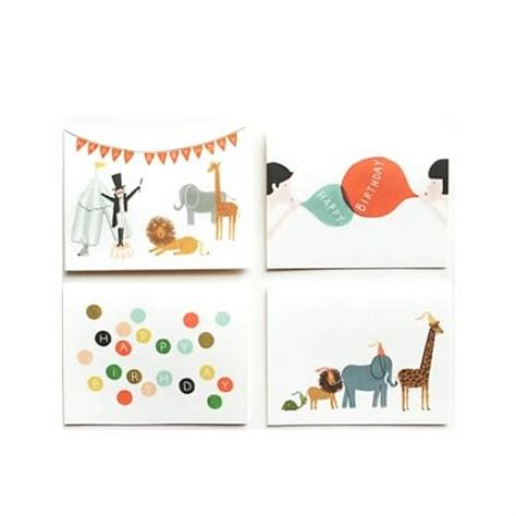 Assorted Birthday Cards Set Of Eight Assorted Birthday Cards By Little Baby