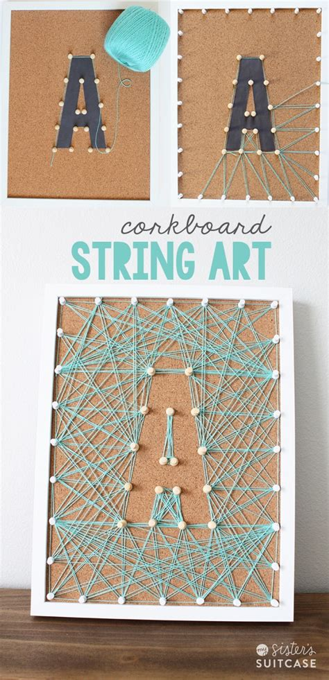 String Cork Board - diy corkboard string tatertots and jello