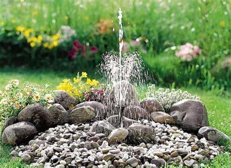 springbrunnen selbst bauen haus design ideen