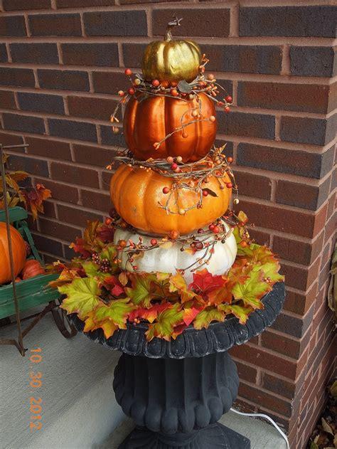 my diy pumpkin topiary pumpkins decorating ideas - Pumpkin Topiary Ideas