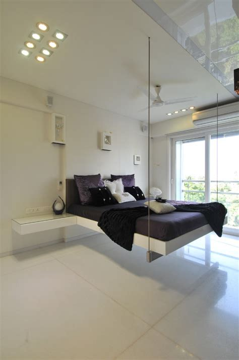 dream hanging beds 12 ideas home living now 84585 15 floating swing bed ideas to make your bedroom more
