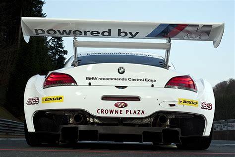 sle of z test bmw z4 gt3 to represent bmw motorsport at thr 24 hours