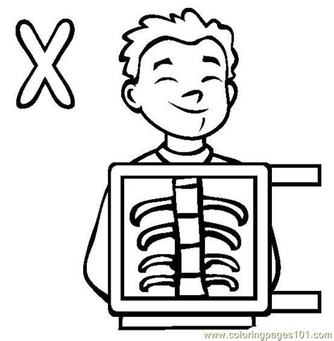 X Coloring Pages Free by X Coloring Pages Printable