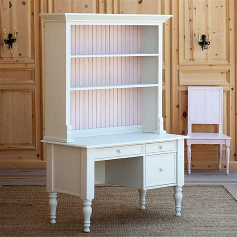 Small Hutch Desk Small Library Desk With Top Hutch Traditional Desks And Hutches New York By Coach Barn
