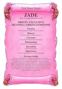 Jade name meanings and names on pinterest