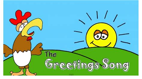 greeting song greetings for kids
