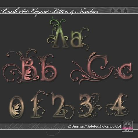 brush lettering tutorial photoshop beautiful floral brushes psddude