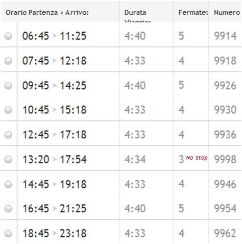 orari italo porta garibaldi napoli orari trenitalia italo prezzi e promozioni