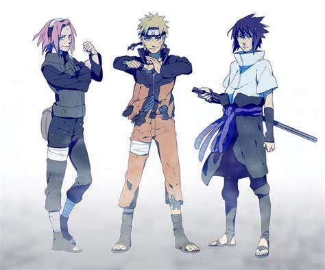naruto team 7 clan tumblr naruto uzumaki sakura haruno sasuke uchiha naroto