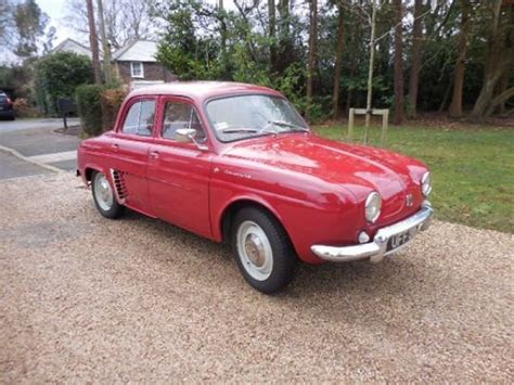 1961 renault dauphine 1961 renault dauphine for sale car ad from