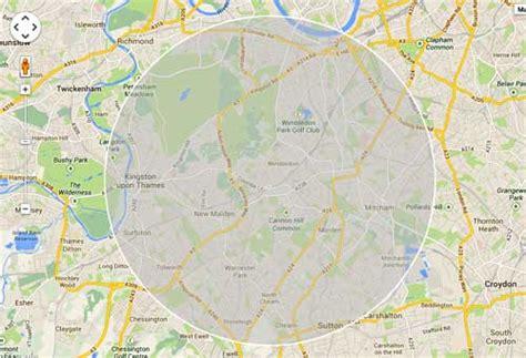 map radius tool custom printed ordnance survey 1 25 000 wallpaper map