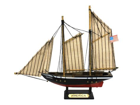buy a boat los angeles buy wooden america model sailboat decoration 7 inch