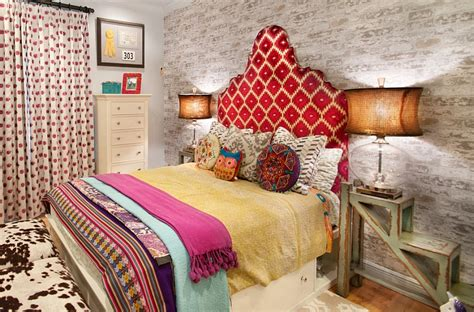 Attractive Indie Room Decorations #4: Restrained-use-of-Bohemian-elements-in-the-modern-bedroom.jpg