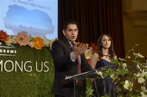 The Riordan Mba Fellows Prgorams by The Riordan Programs Celebrates Heroes Among Us At Annual