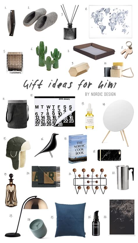 ideas for gifts for gift ideas for him nordicdesign