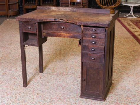 antique jewelers bench antique oak jewelers work bench