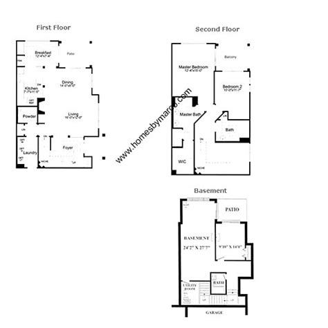 catamaran floor plans catamaran model in the sunset ridge subdivision in wauconda illinois homes by marco