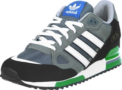 Adidas Zx 75o adidas zx 750 shoes grey black green