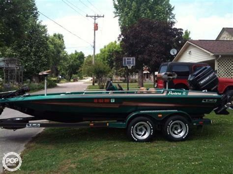 bass boats for sale by dealer 1994 used bass cat 19 pantera ii bass boat for sale